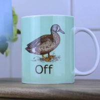 Duck Off Mug image
