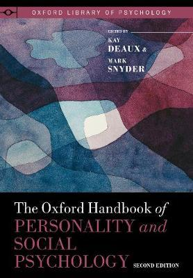 The Oxford Handbook of Personality and Social Psychology image