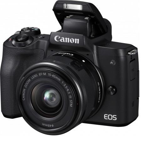 Canon EOS M50 24MP Mirrorless (EFM 15-45 IS)