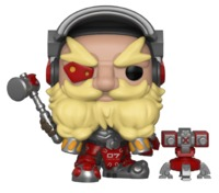 Overwatch – Torbjorn Pop! Vinyl Figure