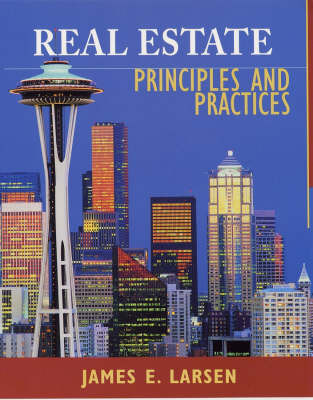 Real Estate Principles and Practices by James E. Larsen image