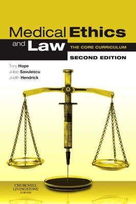 Medical Ethics and Law by Dominic Wilkinson image