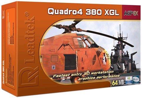 Leadtek Quadro 380XGL 64MB    AGP