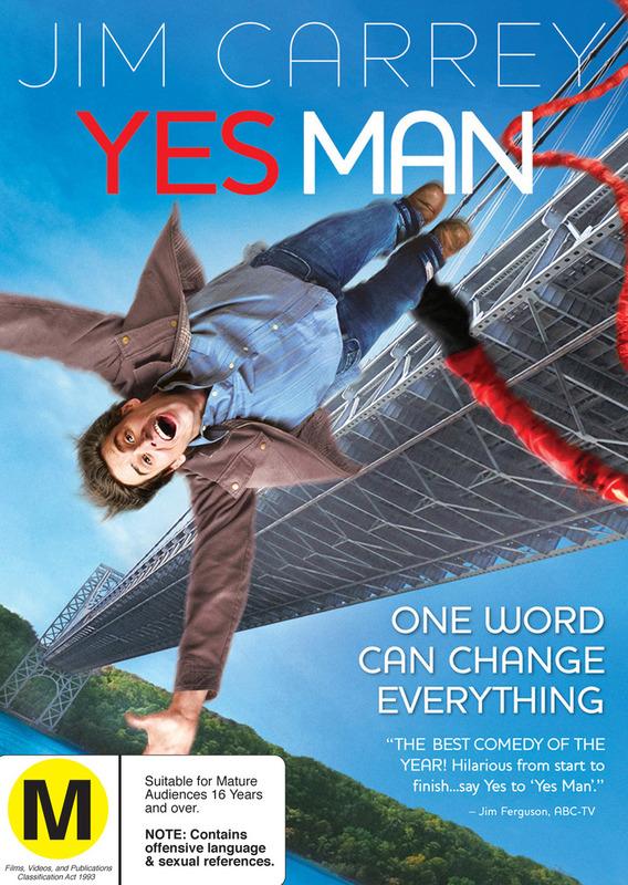 Yes Man on DVD