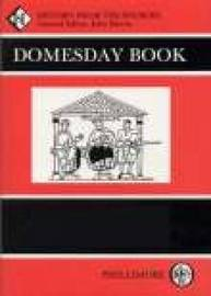 Domesday Book Northamptonshire (hardback) by John Morris image