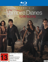 Vampire Diaries - The Complete First to Sixth Season Boxset on Blu-ray