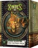 Hordes: Minions Faction Deck 2016