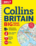 2017 Collins Big Road Atlas Britain by Collins Maps