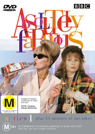 Absolutely Fabulous Series 1 on DVD image