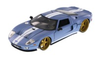 Jada: 1/24 2008 Ford Gt (Blue) - Diecast Model