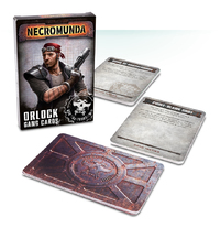 Necromunda - Orlock Gang Tactics Cards