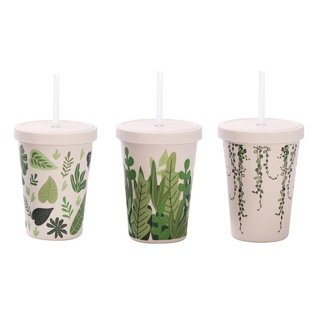 IS GIFT: eCup Smoothie - Leaf Print (Assorted)