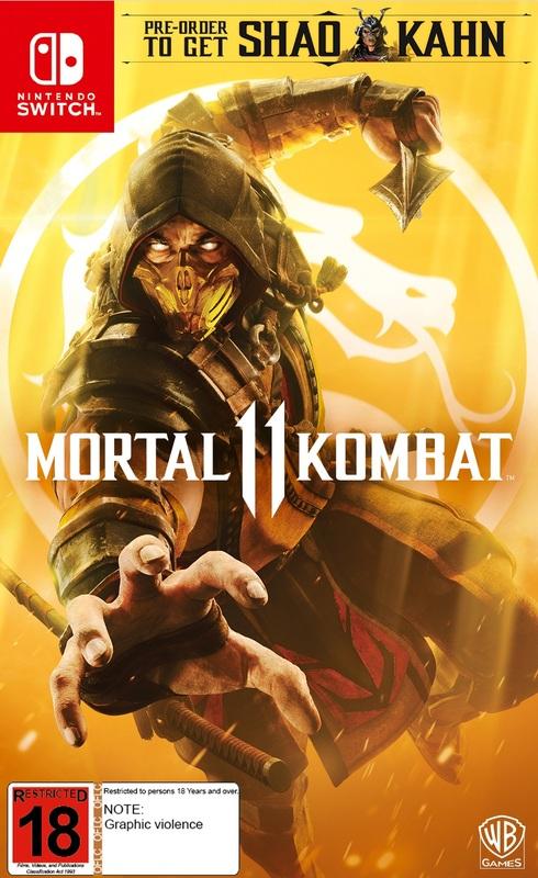 Mortal Kombat 11 for Switch
