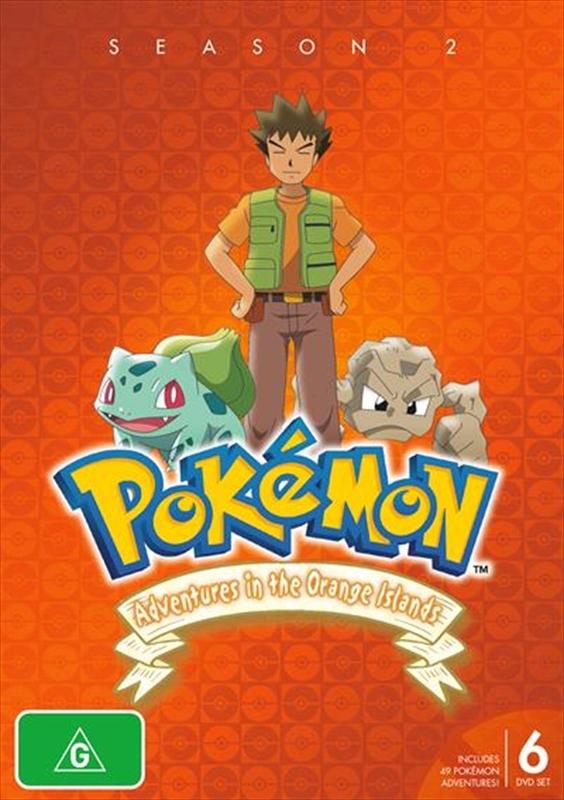 Pokémon® Adventures In The Orange Islands - Season 2 on DVD