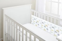 BreathableBaby: Breathable Mesh Cot Liner - 2 Sides (Cloud)