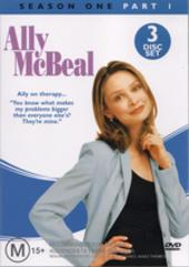 Ally McBeal - Season 1: Part 1 (3 Disc Set) on DVD