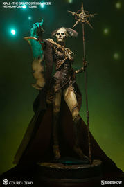 Court of the Dead - Xiall The Great Osteomancer Premium Format Statue
