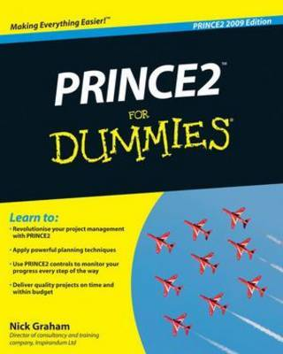 Prince2 for Dummies, 2009 Edition by Nick Graham image