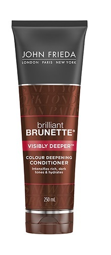 John Frieda Brilliant Brunette Visibly Deeper Conditioner (250ml)