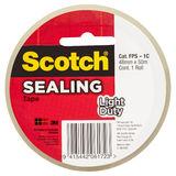 Scotch® Light Duty Sealing Tape (48mm x 50m)