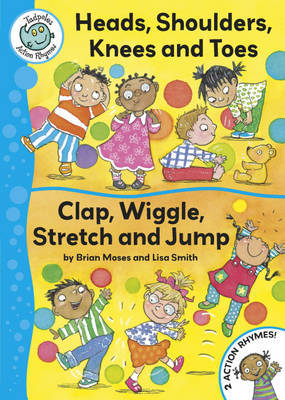 Head, Shoulders, Knees and Toes / Clap, Wriggle, Stretch and Jump by Brian Moses image
