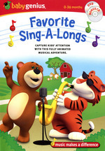 Baby Genius - Favourite Sing-A-Longs (DVD And CD) (Handle Case) on DVD
