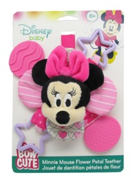 Disney Baby: Minnie Bow - Cute Petal Teether Rattle