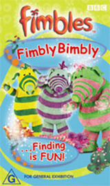 Fimbles - Fimbly Bimbly.. Finding is FUN! on DVD