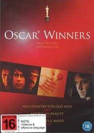 No Country For Old Men / A Beautiful Mind / American Beauty on DVD