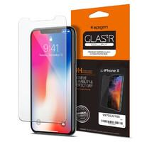 Spigen iPhone X Premium Tempered Glass Screen Protector Super HD Clarity