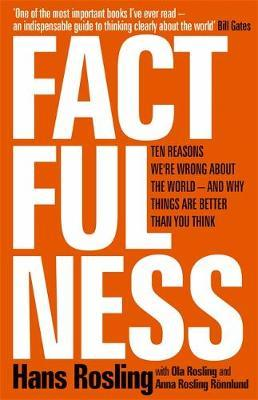 Factfulness by Hans Rosling image
