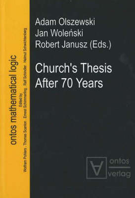 Church's Thesis After 70 Years image