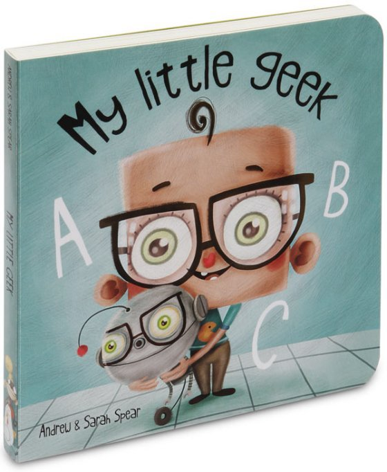 My Little Geek by Andrew Spear image