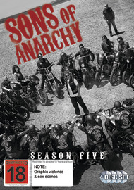 Sons of Anarchy - Season 5 on DVD