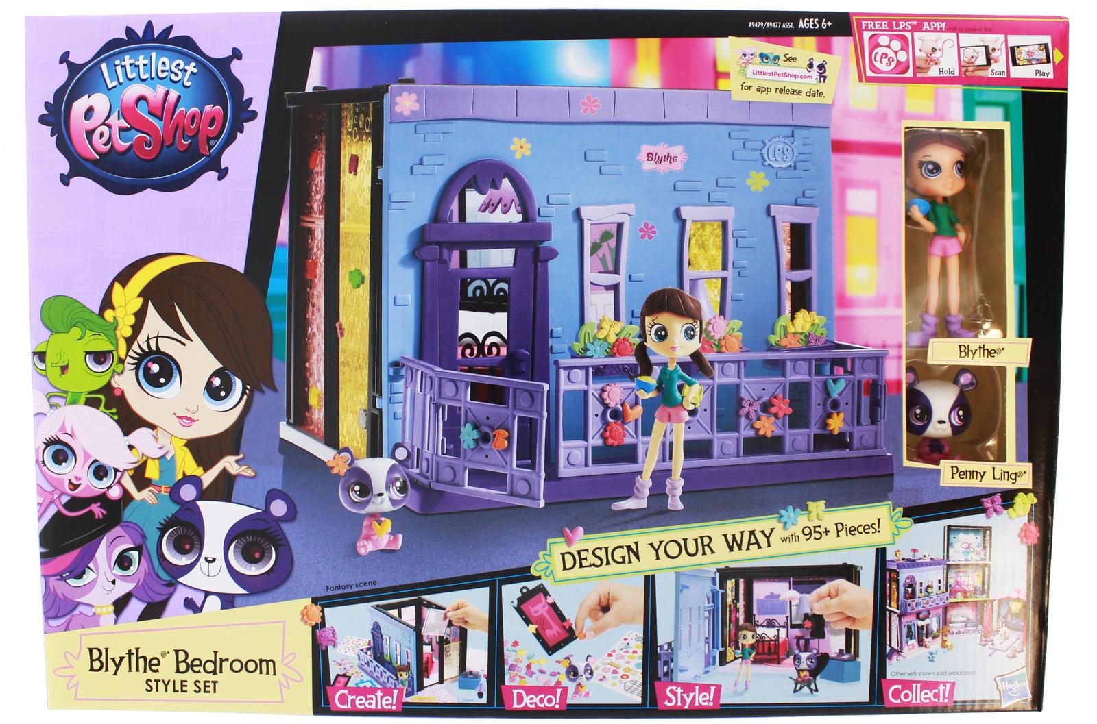 Littlest Pet Shop Style Set Blythe S Bedroom Toy At Mighty Ape Australia