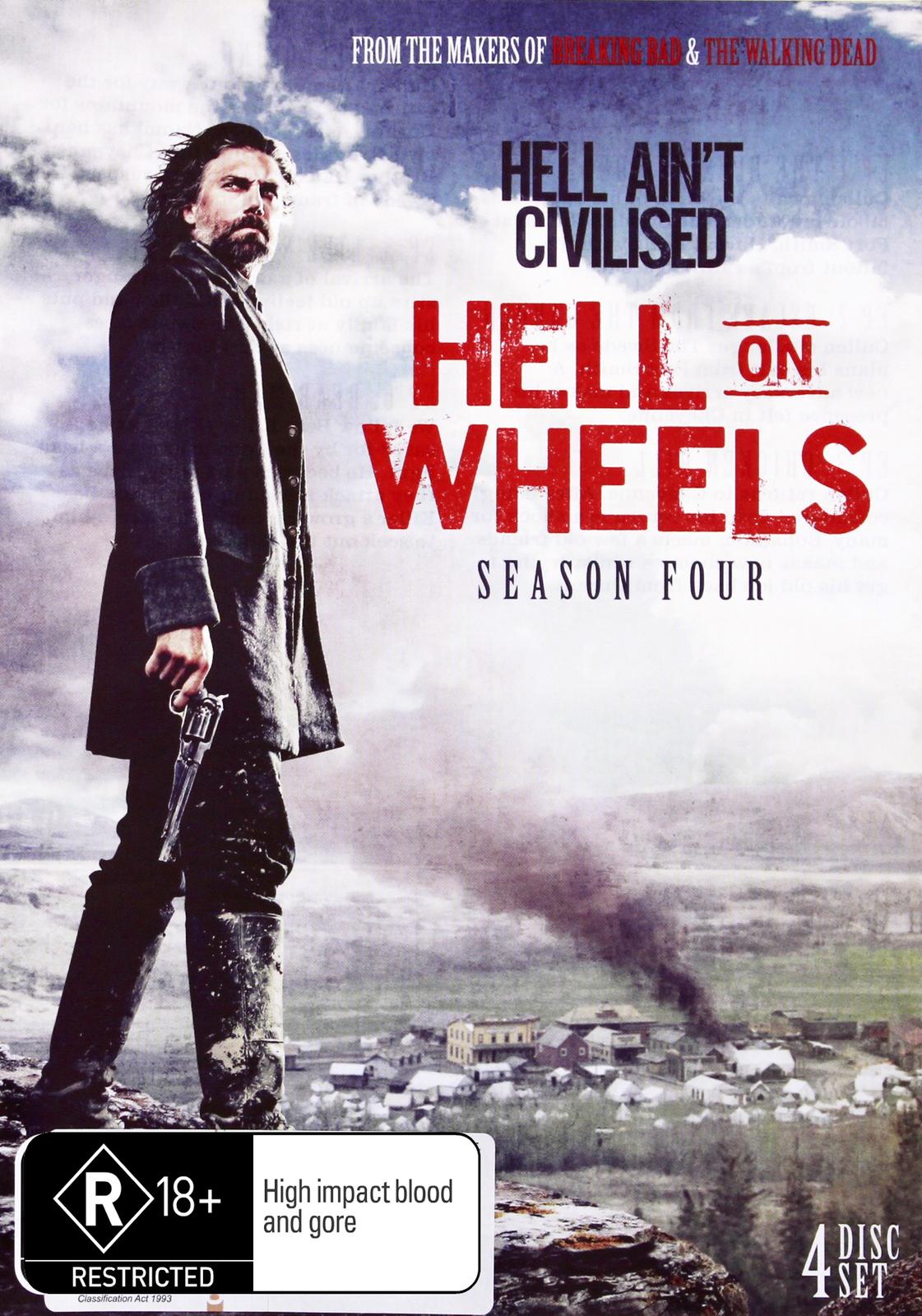 Hell On Wheels - Season Four on DVD image