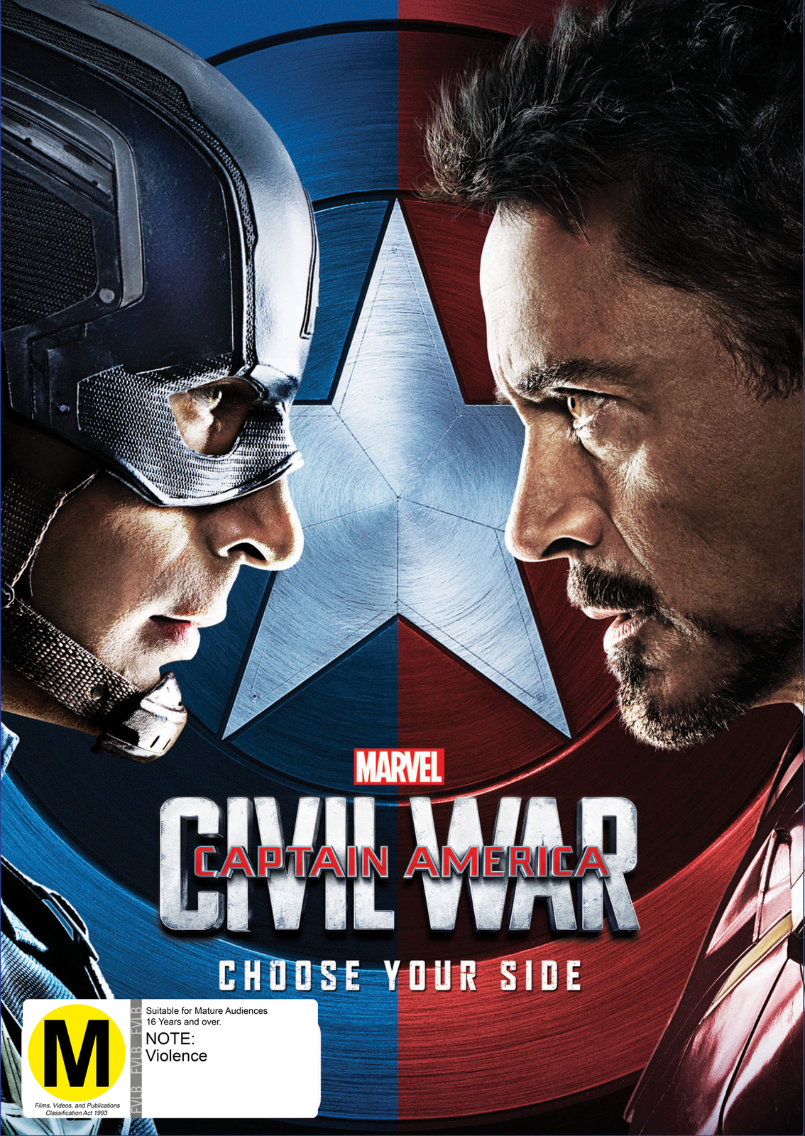 captain america: civil war | dvd | on sale now | at mighty ape nz