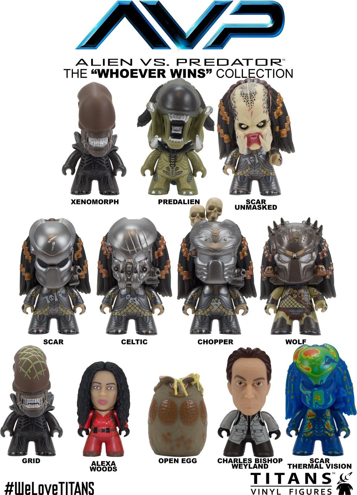 Alien vs Predator - The Whoever Wins Titans (Blind Box) image