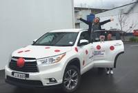 Cure Kids Red Nose for Cars image