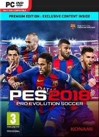 Pro Evolution Soccer 2018 Premium Edition for PC Games
