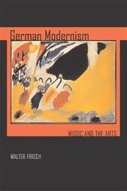 German Modernism by Walter Frisch image