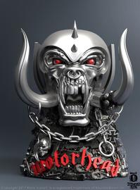 "Rock Iconz: War Pig (Motorhead) - 7"" Statue"