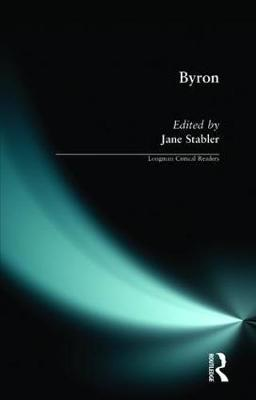 Byron by Jane Stabler