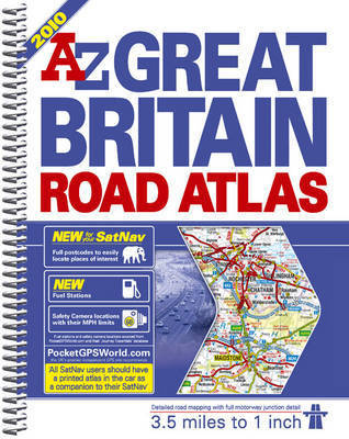 A-Z Great Britain Road Atlas by Geographers A-Z Map Company