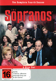 The Sopranos - The Complete Fourth Season on DVD