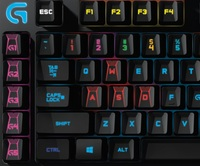 Logitech G910 RGB Mechanical Keyboard (Orion Spark) for  image