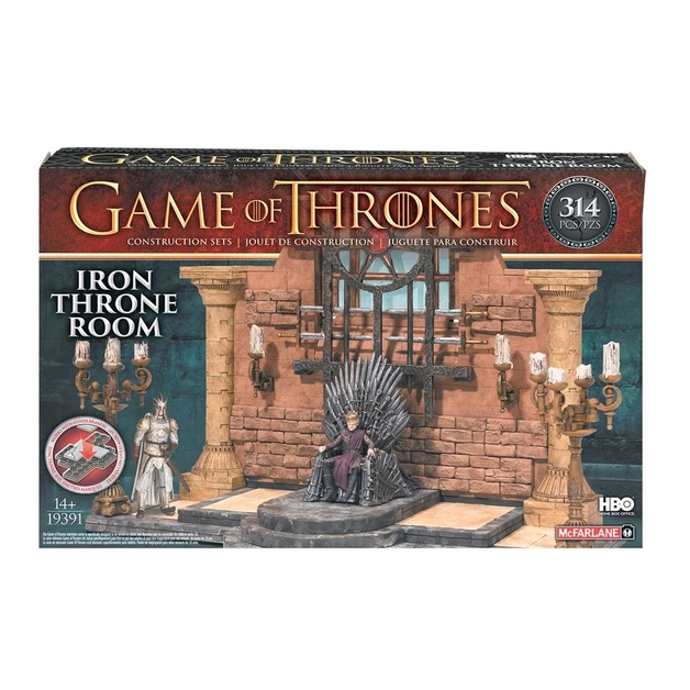 Game of Thrones Construction Set: Iron Throne Room