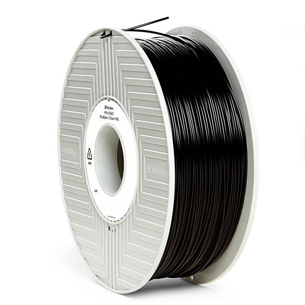 Verbatim 3D Printer PLA 1.75mm Filament - 1kg (Black)