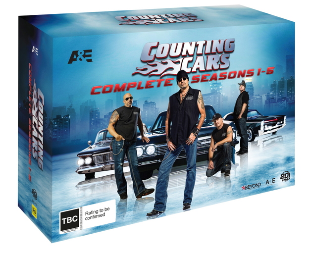 Counting Cars - Seasons 1-5 (Complete Collection) on DVD