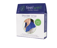 Feel Well - Warm or Cool Shoulder Wrap (Blue)